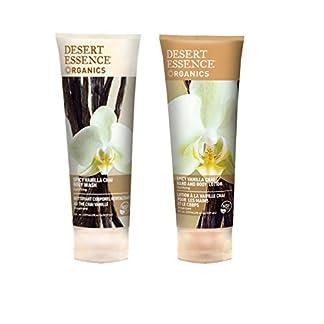 Desert Essence Body Wash & Lotion, Spicy Vanilla Chai, 8 fl oz each