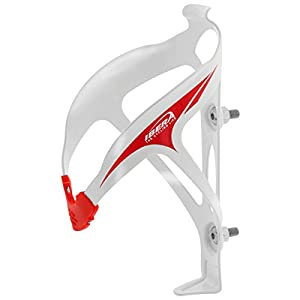 Ibera Extra Lightweight Alloy Bottle Cage, 29gm, White