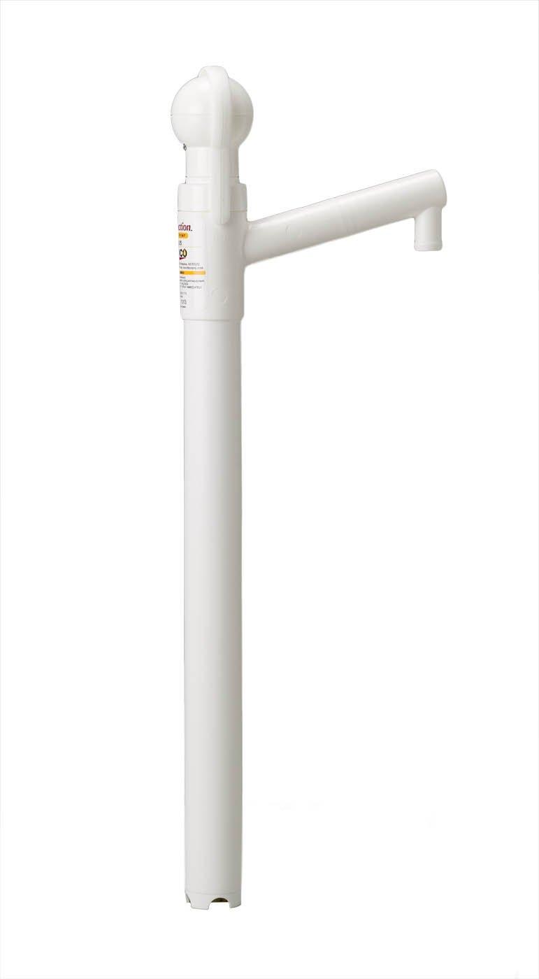 Trico Polypropylene Ezi Action Drum Pump, 15 oz Per Stroke, 8000 cps Maximum Viscosity, For 15-30 Gallon Container