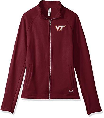 Under Armour NCAA Virginia Tech Hokies Women's Terry Full-Zip Jacket, Medium, ()
