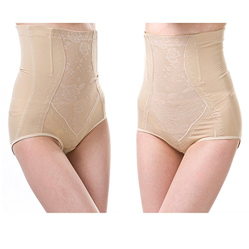 Surker Frauen Firm Control Panels Tummy shaperwear Nude