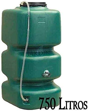 DEPOSITO POLIETILENO agua de lluvia 750 LITROS. Largo 72 cm, Ancho 88 cm, Alto 161 cm. Para recuperación de agua de lluvia en el jardín o en la bodega.: Amazon.es: Bricolaje y herramientas