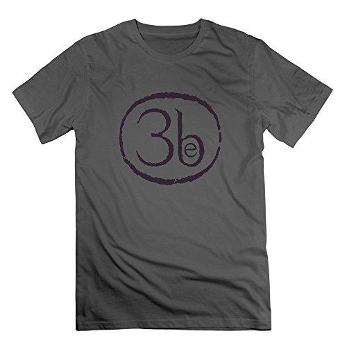 Men O-Neck Third Eye Blind Band 3b T-shirts S DeepHeather