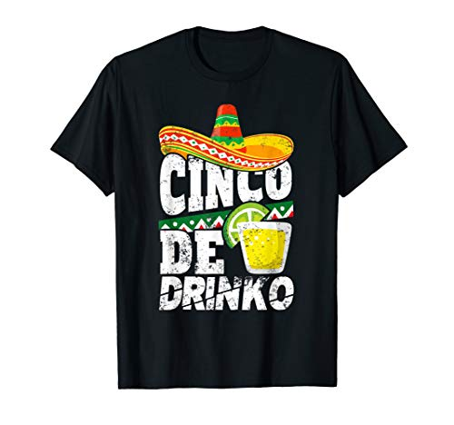 Funny Cinco De Mayo Shirt Drinko Margarita Men Women Gift -