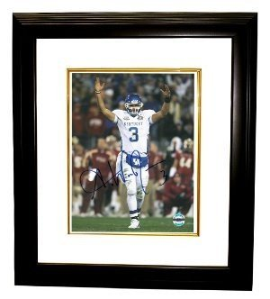Andre Woodson Signed Autograph Kentucky Wildcats 8x10 Framed Photo - Authentic College Photo -