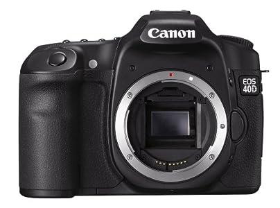 Canon EOS 40D Appareil photo numérique Reflex 10.1 Mpix Boîtier nu Noir