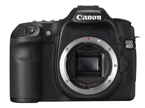 Canon EOS 40D 40 D 40-D DSLR Camera (Body Without Lens)