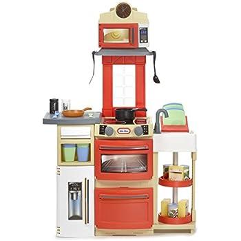 Amazon Com Little Tikes Cook N Store Kitchen Playset