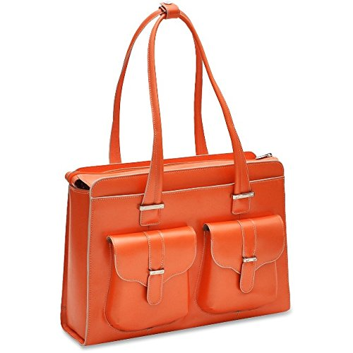 McKleinUSA ALEXIS 96540 Orange Leather Ladies' Briefcase
