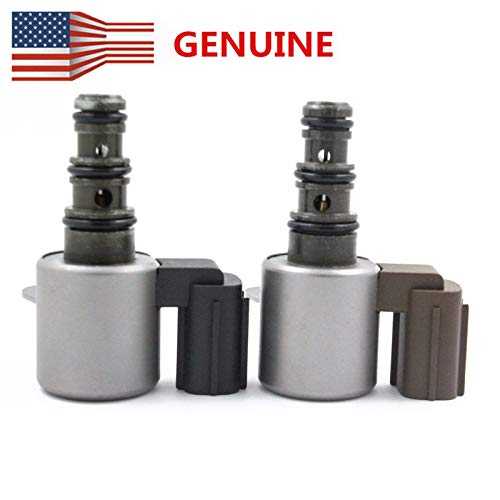 (10 YEAR WARRANTY OEM Transmission Shift Control Solenoid Valve B&C Kit Set for Honda ACCORD, PILOT, ODYSSEY, PRELUDE, ACURA CL, TL, MDX part # 28400-P6H-003,28400-P6H-013)