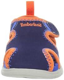 Timberland Little Harbor Sandal (Toddler/Little Kid),Navy,7 M US Toddler