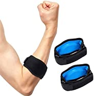 Sport Elbow Brace, Tennis Elbow Brace with Compression Pad Effective Pain Relief for Tennis and Golfers Elbow