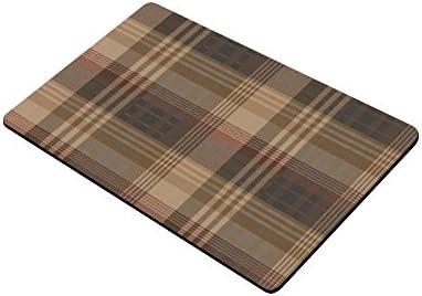 Scottish Tartan Plaid Pattern Durable Home Indoor Outdoor Floor Mat Doormats 30 x 18 inches Large