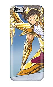 Fashionable Style Case Cover Skin For Iphone 6 Plus- Sagittarius Seiya Gold Saint Pictures 2412080K91905930