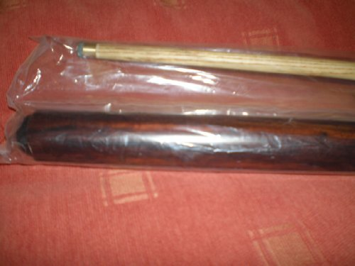 Snooker Cue IQGAMESROOM full size 2 Piece Pool 11mm screw on tip with soft Carrying Case by Ramin