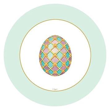 Easter Paper Plates Dessert Plates Salad Plates Easter Egg Hunt Imperial  Eggs 8u0026quot; Plates Pk