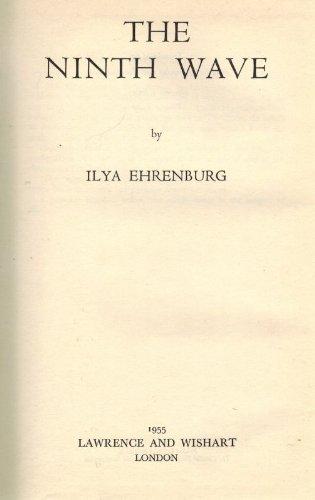 The Ninth Wave. Translated by Tatiana Shebunina and Joseph Castle. General editor: Yvonne Kapp.