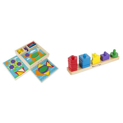 Wooden Beginner Pattern Blocks - 7