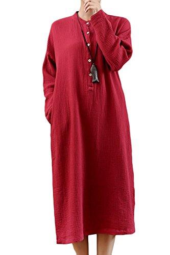 buttoned summer dresses - 9