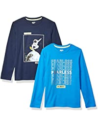 Boy's 2-Pack Long-Sleeve Novelty T-Shirts