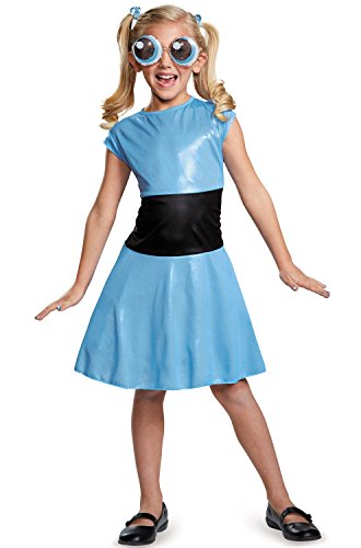 Bubbles Classic Powerpuff Girls Cartoon Network Costume, Small/4-6X