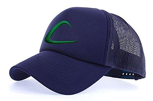 myglory77mall Sombrero de Animado para Hombre All Navy T1