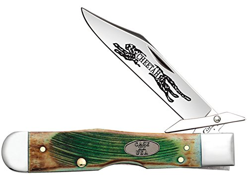 W.R. Case & Sons Cutlery Sawcut Clover Cheetah Knife