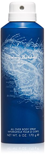 Tommy Bahama St. Barts Men Body Spray, 6 oz