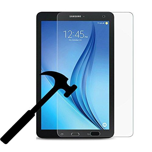 Galaxy Tab E 8.0 Screen Protector, EpicGadget(TM) Ultra HD Crystal Clear Bubble Free Anti Fingerprint Anti Scratch 9H Hardness Tempered Glass Screen Protector For Galaxy Tab E 8.0 SM-T377A/P/R/T/V