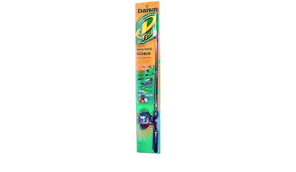 Amazon.com : Daiwa D - Fish Rod and Reel Spinning Kit 200 ...