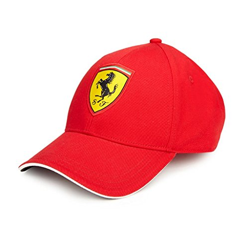 Scuderia Ferrari Red Classic Kids Adjustable 2018 Red Hat (Logo Für Ferrari)