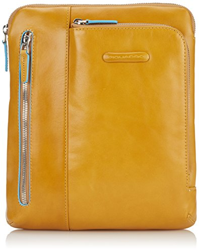 Piquadro Women's Cross-Body Bag Yellow YELLOW