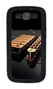Guitar Strings TPU Case Cover for Samsung Galaxy S3 Case and Cover - Black