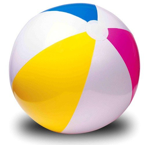 Lote 3 - PVC pelota inflable multicolor 51cm - Calidad ...