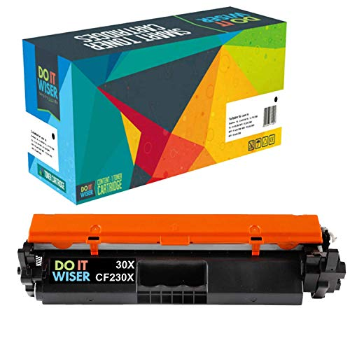 (Do it Wiser Compatible Toner Replacement for HP 30X CF230X for HP LaserJet Pro M203dw M203dn MFP M277 M277fdw - High Yield (Black))