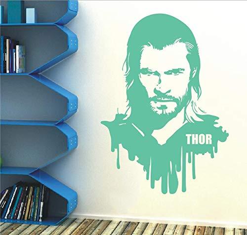 zzlfn3lv Thor Vinilo Tatuajes de Pared extraíble Etiqueta Marvel ...