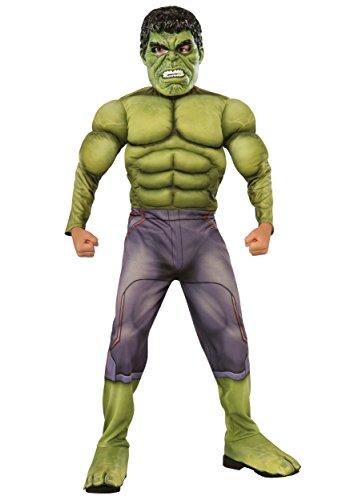 Hulk Boys Costume Marvel Superhero Comics Movie Jumpsuit Child size