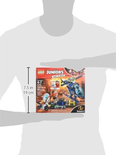 41bHdPspyJL LEGO Juniors/4+ The Incredibles 2 Elastigirl's Rooftop Pursuit 10759 Building Kit (95 Piece)