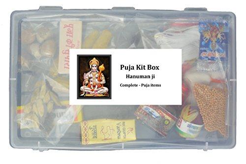Namaste Veer Hanuman Puja Set Complete Puja Kit ()