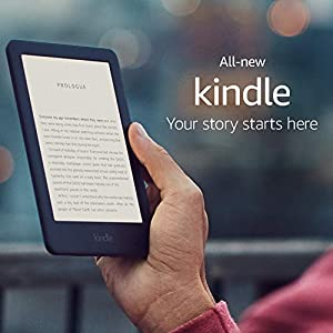 Kindle, now with a built-in front light - Black