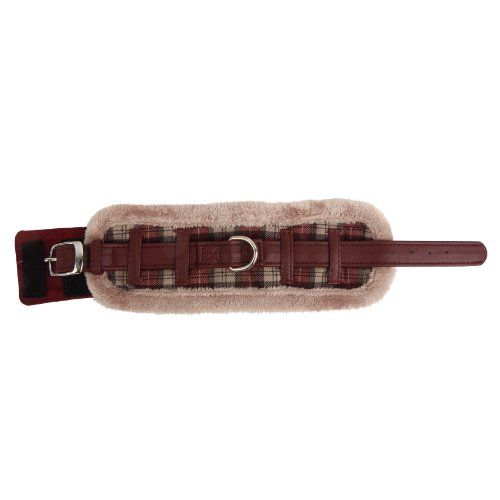 Puppia Small Authentic Barron Neck Guard, Wine