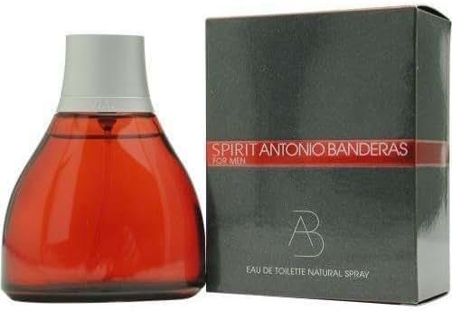 Spirit By Antonio Banderas For Men. Eau De Toilette Spray 3.4 oz