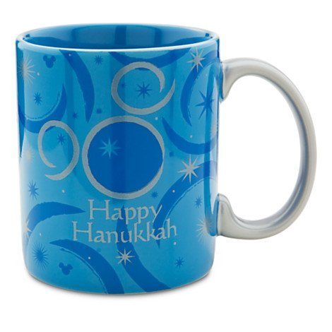 Disney Limited Edition Mickey Mouse Hanukkah Coffee Mug