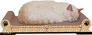 product image for Imperial Cat Scratch 'n Shape Sofa, Giraffe