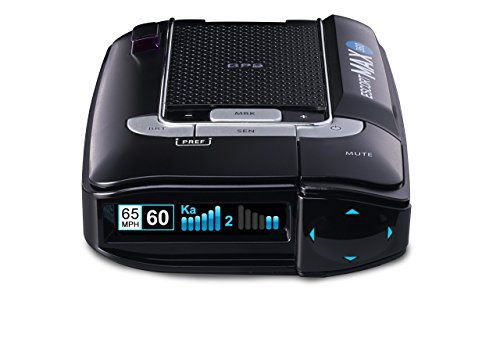 ESCORT MAX360 - Laser Radar Detector, GPS for Fewer False Alerts, Lightning Fast Response, Directional Alerts, Dual Antenna Front and Rear, Bluetooth, Voice Alerts, OLED Display, Escort Live!