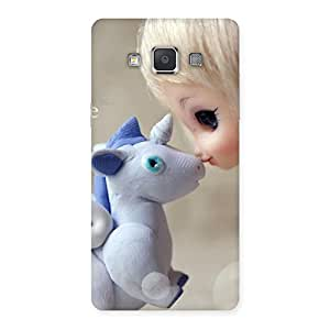Lovely Cute Baby Girl Multicolor Back Case Cover for Galaxy Grand 3