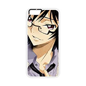 code geass lelouch iPhone 6 Plus 5.5 Inch Cell Phone Case White 53Go-013143