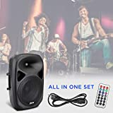 "LyxPro 12"" PA System Powerful Compact PA Portable"