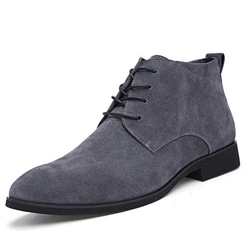 De Invierno Botas Transpirables Zapatos Al Aire Botines Hombres Libre Cuero Gris Casual 5dgxqwv8vU