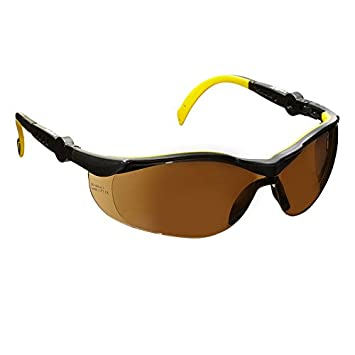 voltX 'GT ADJUSTABLE' Wraparound Safety Glasses Glasses (CLEAR LENS) CE EN166FT certified. Anti-fog and Anti-scratch, Class 1 UV protection. Others